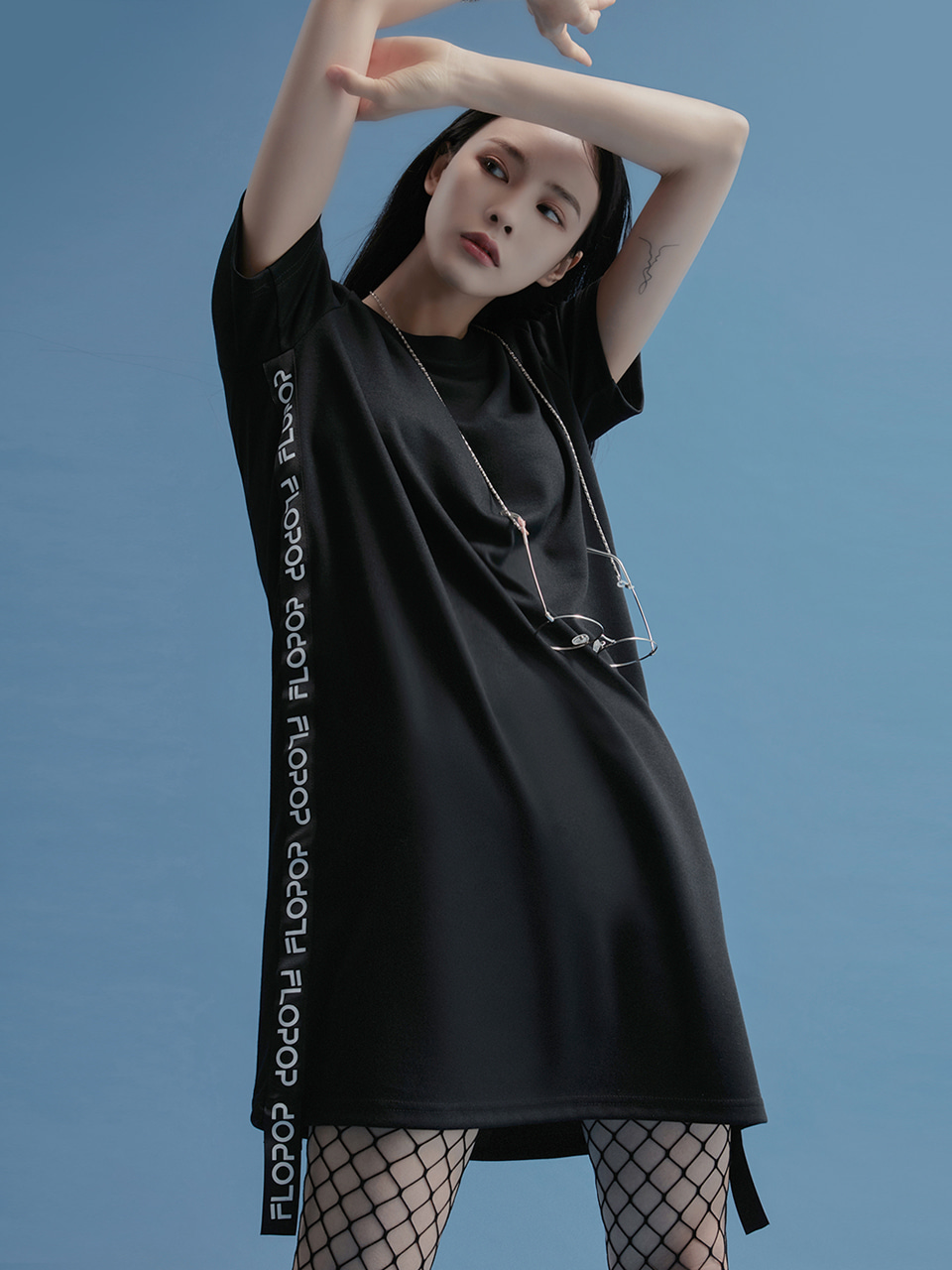 [20SS | 50%]SIDE LOGO UNBALANCE ONE-PIECE